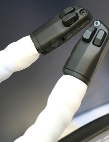 Trinity Advanced SLO bar end Shimano Di2 shifter buttons