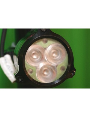 Hope District uses three 240-lumen LEDs