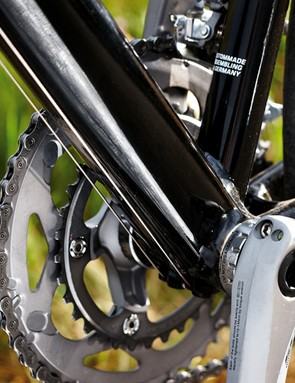 Rose's multiple-choice system makes it easy to swap parts, so faster women can go for a rarely specced 53/39 chainset