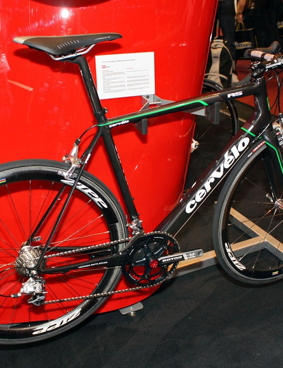 The new Cervélo R5 will have the same exterior shape as the R5ca but will be built in Asia instead of California