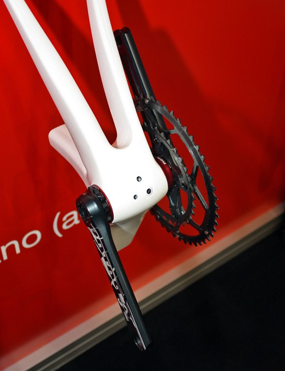 Cervélo originally developed BBright in co-operation with team sponsors Rotor but other manufacturers have already signed on