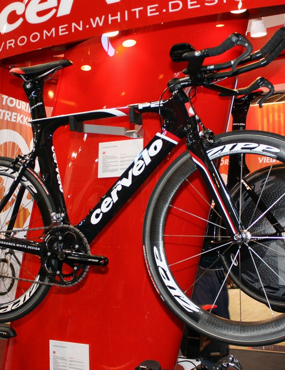 Cervélo's popular P2 will carry over essentially unchanged for 2011 – a good thing for bread-and-butter triathlete customers who have come to rely on its versatile fit and proven performance