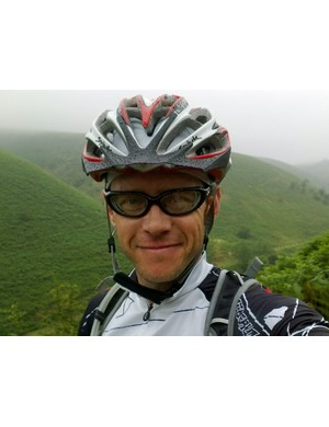Rob Lee is hoping to ride off-road from Land's End to John O'Groats in under two weeks