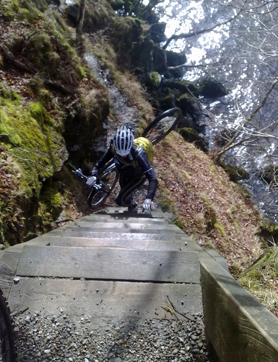 His 7 Deadly Spins project aims to promote ultra-endurance mountain biking in the UK