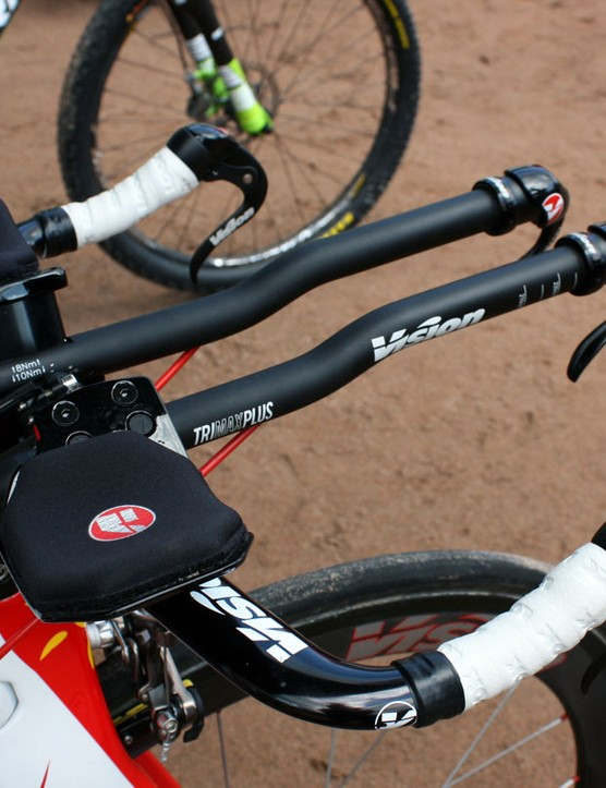 At first glance, Vision's new Metron shifters make it appear as if the user has four brake levers fitted