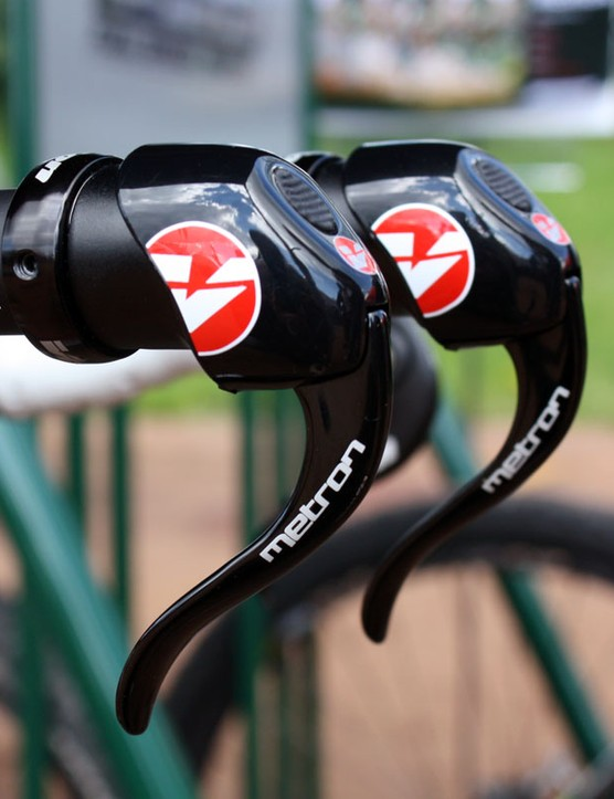The new Vision Metron shifters masquerade as bar-end brake levers