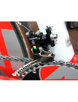 Vision's new Metron front derailleur is essentially a re-do of parent company FSA's Energy unit