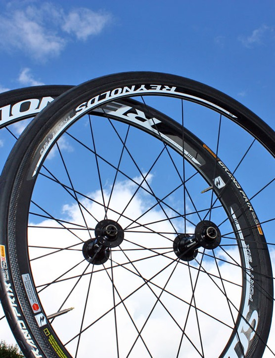 In addtition to physical changes to the rims, Reynolds' new high-end wheels also get updated graphics