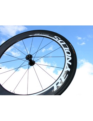 Reynolds' updated Sixty-Six uses the same overall rim shape as before but with a new brake track and a clever ridge on the rim nose that is said to reduce aerodynamic drag