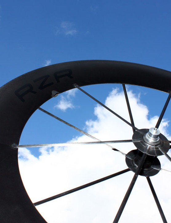 The Reynolds Composites Studio RZR 92 is deep and aero but also remarkably light