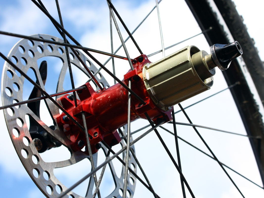 Hubs on Reynolds' new off-road wheelsets are sourced from Asia instead of from DT Swiss