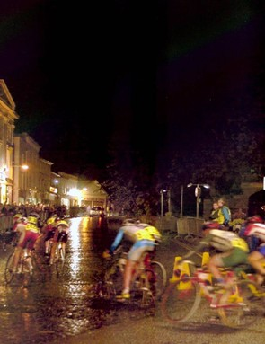 Up to 14,000 people are expected to line the streets of the small Shropshire town for the Newport Nocturne criterium