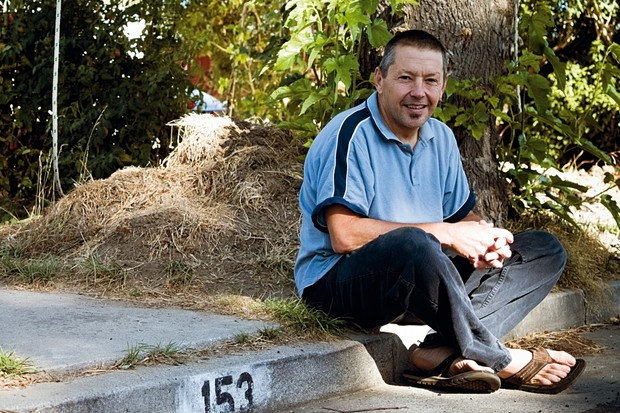 Keith's sprawling vegetable garden sticks out in Santa Cruz, but he's always been one of a kind