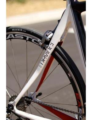 Another look at the Leo's large seatstays