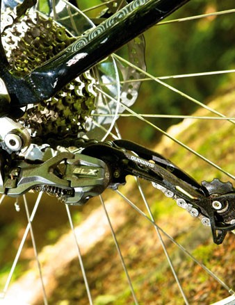 The SLX rear mech is robust