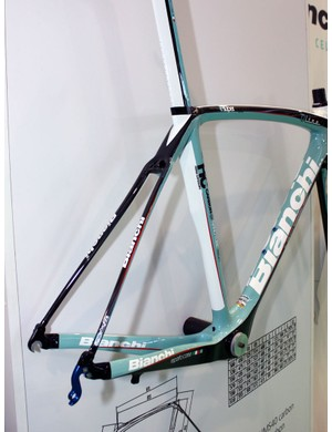 The tall and fat chainstays are matched to thin seatstays