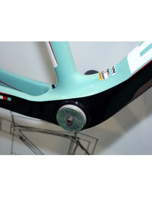 Bianchi have adopted the BB30 standard across much of their upper-end range
