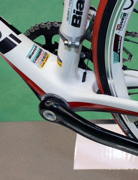 Bianchi include a BB30 bottom bracket on the new Sempre