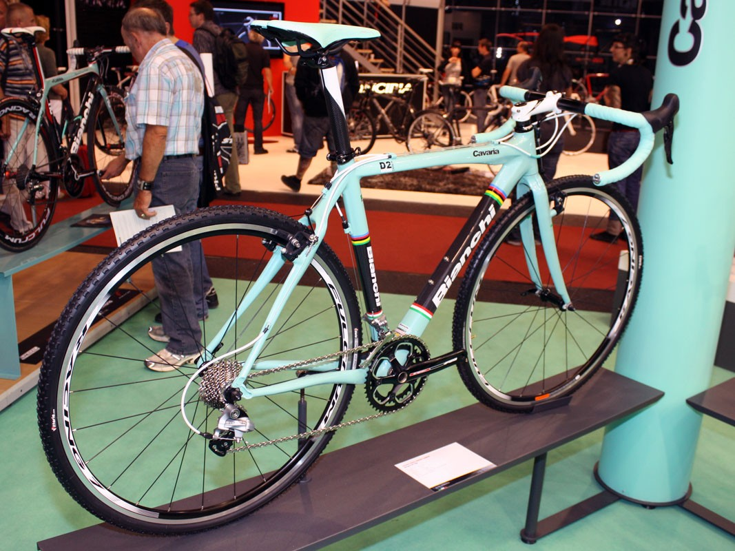 Bianchi add a high-end 'cross bike with the Cavaria