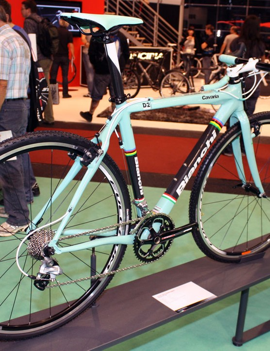 Bianchi add a high-end 'cross bike with the Cavaria