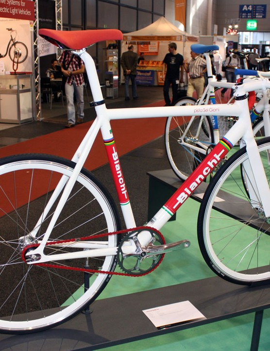 The Bianchi Pista Sei Giorni could certainly be used around town but less skilled riders might want to add some brakes