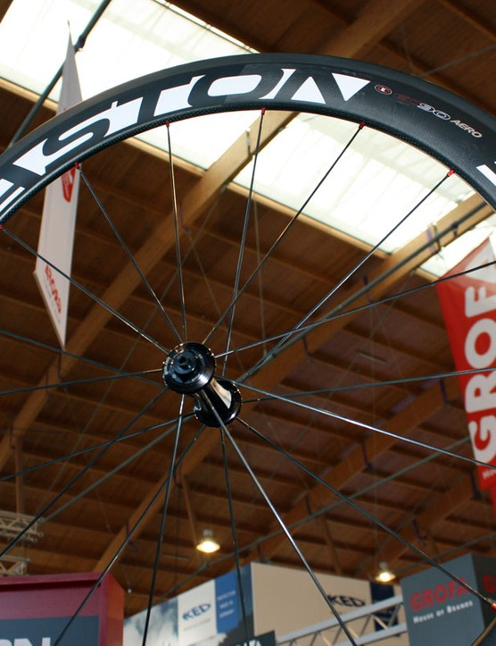 Easton adds a new 58mm-deep version of its EC90 SL carbon clincher for 2011.