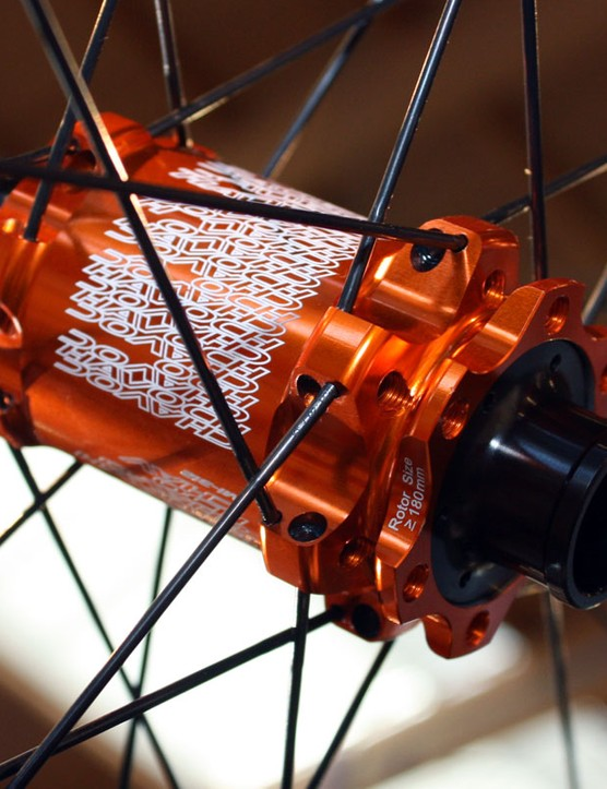 The 2011 Havoc wheels are designed for use on 20mm thru-axle forks.