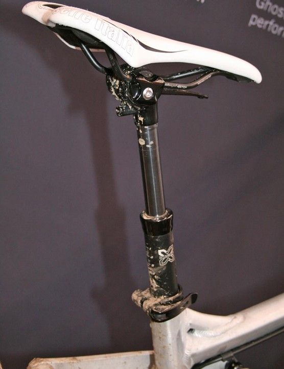 The E-Ndure Evo 2 uses a dropper seatpost