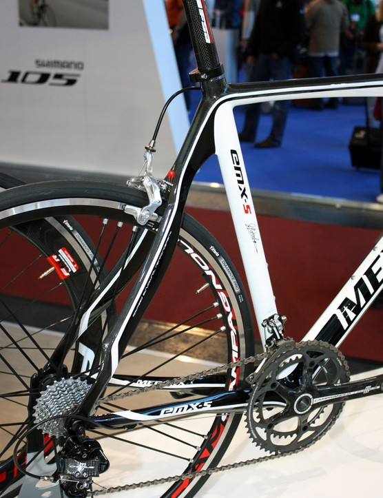 The 2011 EMX-5 uses similarly shaped seatstays to last year
