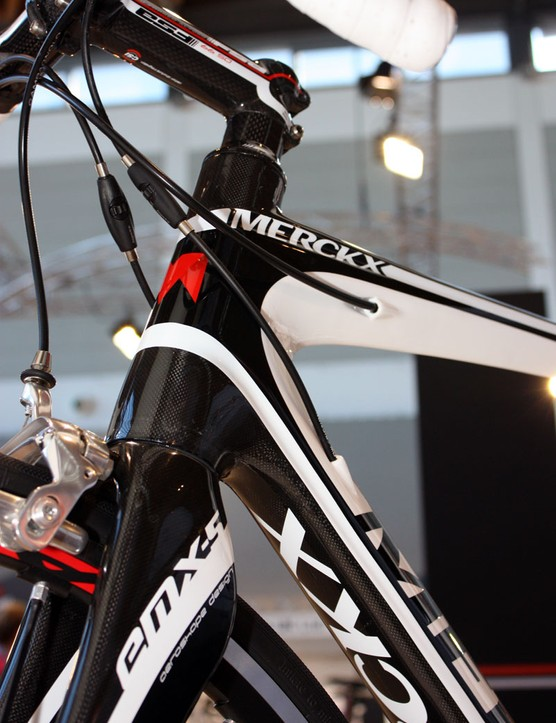The new EMX-5 gets internal cable routing for 2011