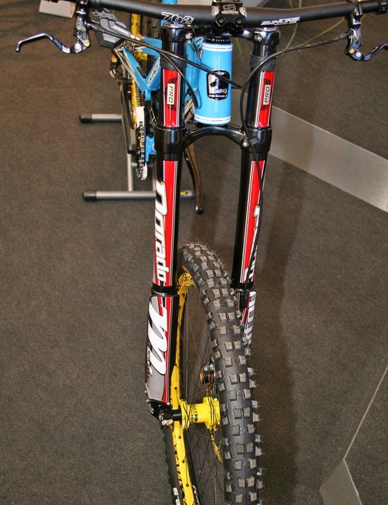 Marin Team DH with Manitou Dorado forks