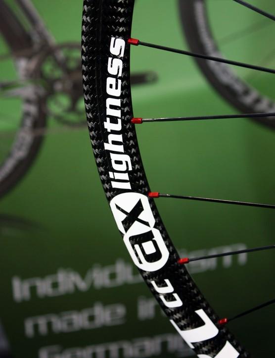 AX-Lightness say their SRT CC mountain bike rims weigh just 230g apiece
