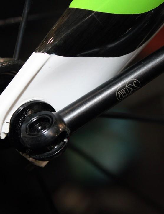 AX-Lightness's minimal skewers use tiny machined aluminium handles