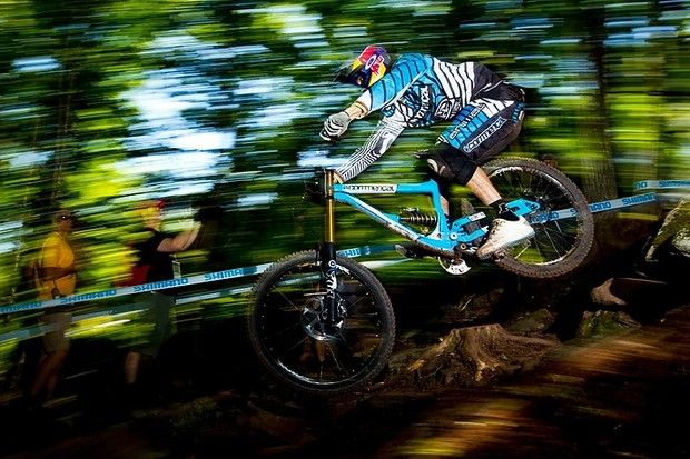 The fifth round in Val di Sole was to prove crucial for Gee Atherton's World Cup campaign