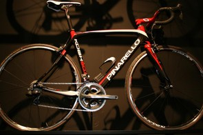 Kobh with Shimano's Di2 groupset and Dura-Ace wheels