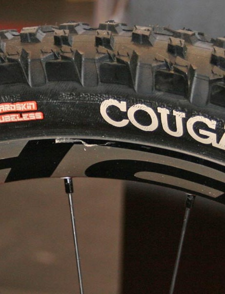 Hutchinson's Cougar uses Hardskin sidewall protection