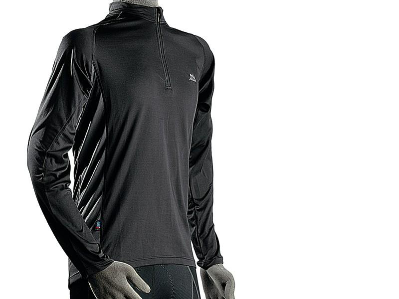 Polaris BL Zip long sleeve jersey