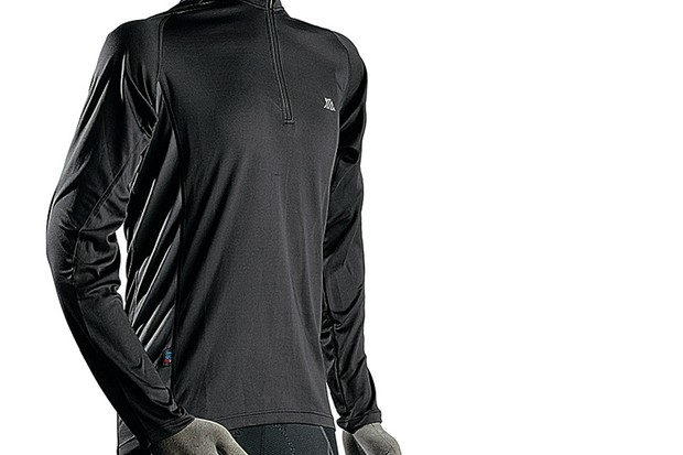Polaris BL Zip long sleeve jersey