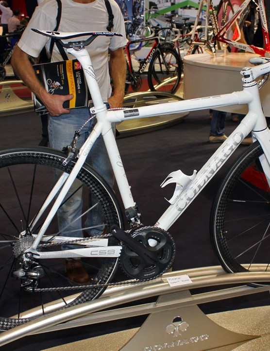 Colnago will offer just 59 of these limited edition – and utterly beautiful – C59 Italia edition machines