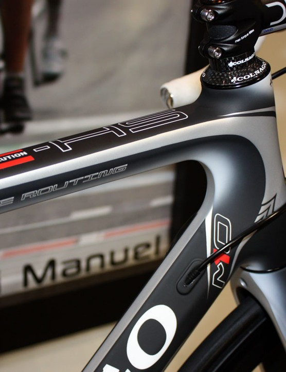 Colnago will offer the new M10 in five eye-catching paint schemes plus a spartan matt black finish