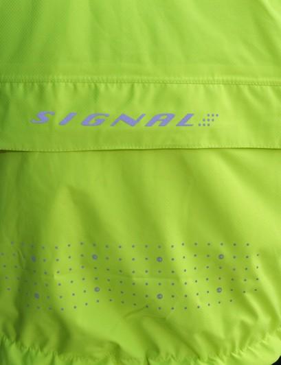 Reflective polka dots on the DHB Signal jacket