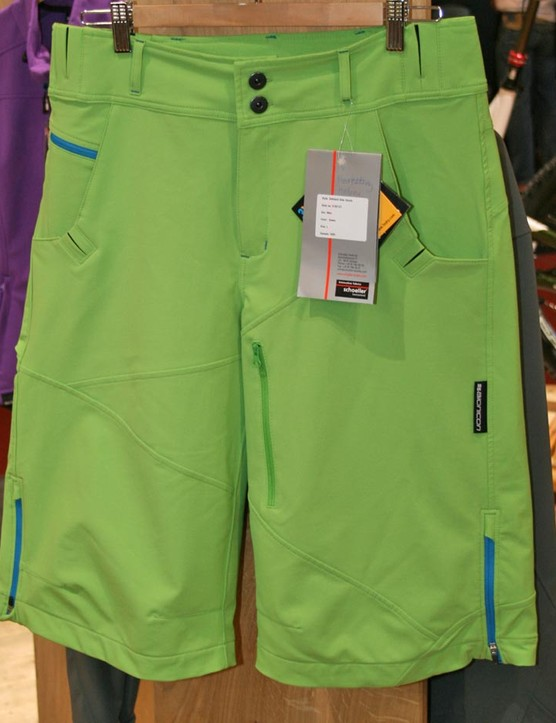 Top quality softshell shorts using Scholler fabric will set you back £110