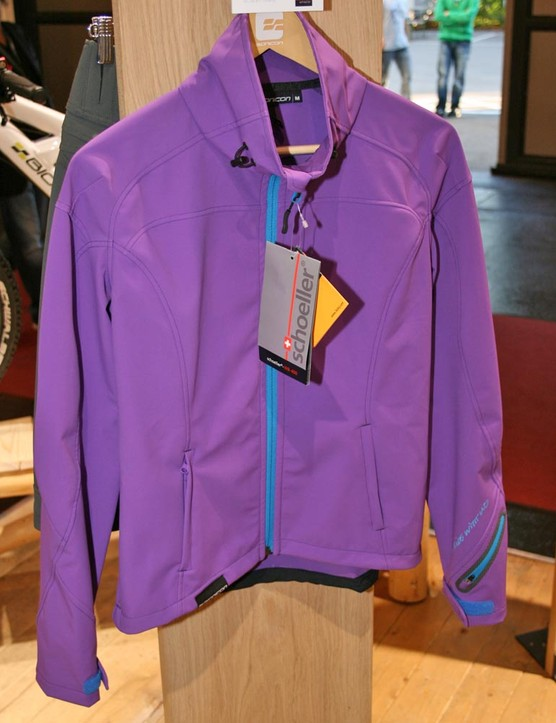 This softshell jacket made from Scholler fabric is not cheap at £190 but is top notch quality. Want!