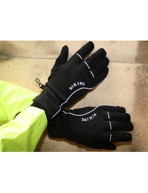 Winter cycling gloves - £4.99