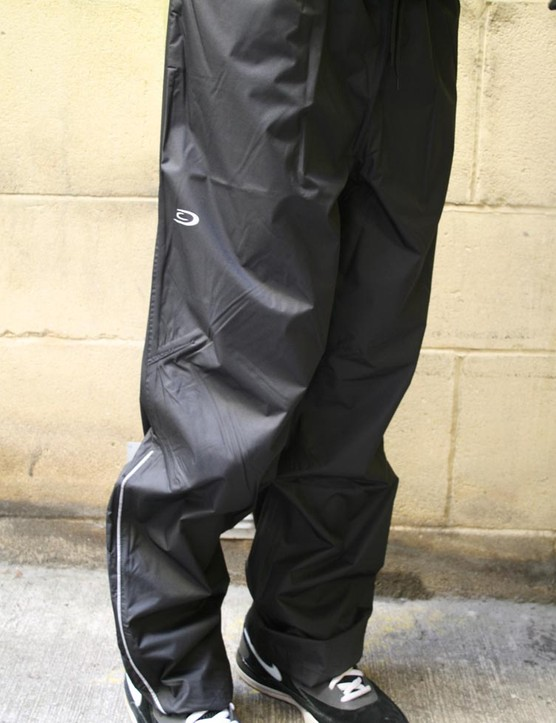 Waterproof cycling trousers - £9.99