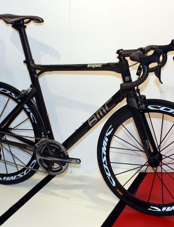 BMC's new Impec road racer is built in the company's new Swiss factory using a robotic loom and unique two-piece lugs