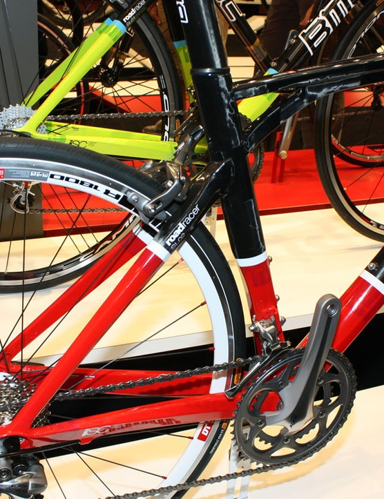 Even without the decals, the new Roadracer is still easily identifiable as a BMC