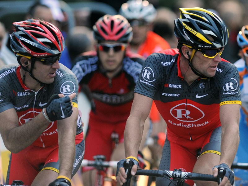 Lance Armstrong's RadioShack team have been snubbed for the Tour of Lombardy by organisers RCS Sport
