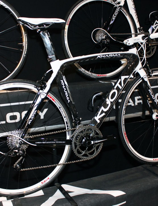 The Kharma is mostly unchanged with the exception of a BB30 bottom bracket for 2011