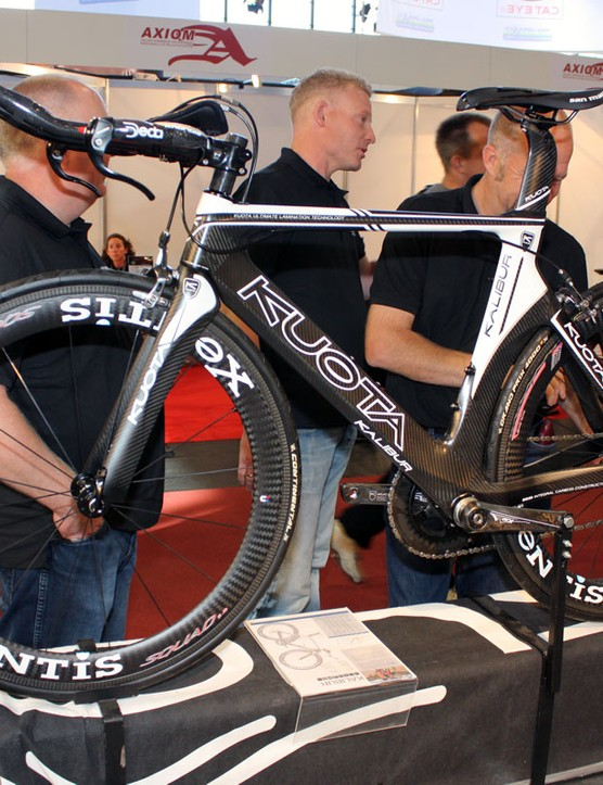 Kuota have revamped their Kalibur frame for 2011